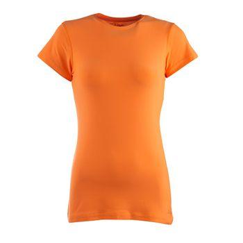 Camisetas-Zolkan-Polera-Manga-Corta-Mujer-Orange-Fluor