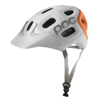 Cascos-Poc-Trabec-Race-Unisex-White-Orange