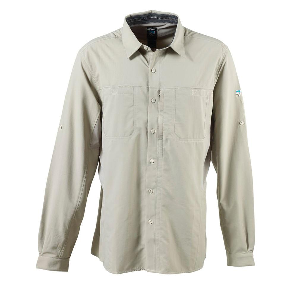 Camisas-Kuhl-Wunderer-Hombre-Khaki