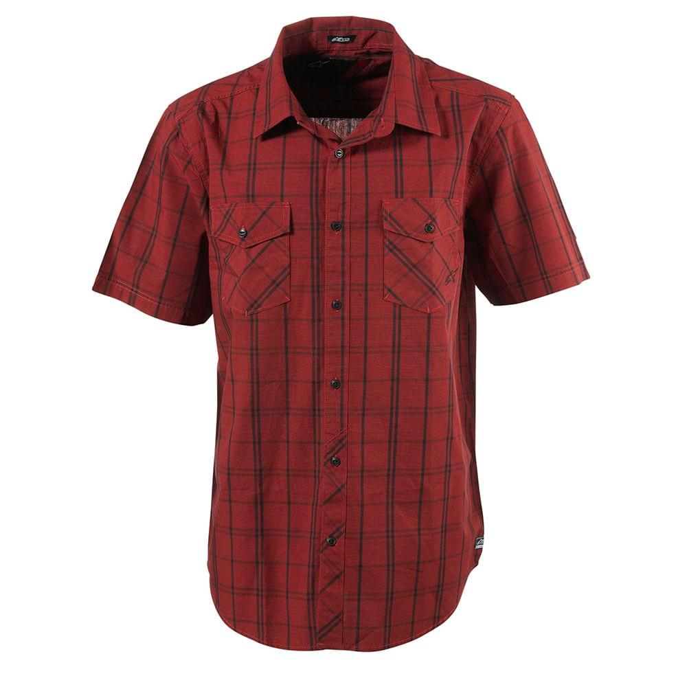Camisas-Alpinestar-Vex-S-S-Shirt-Hombre-No-Color