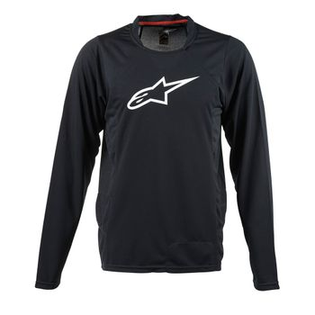 Camisetas-Alpinestar-Drop-2-L-S-Jersey-Unisex-Black-White