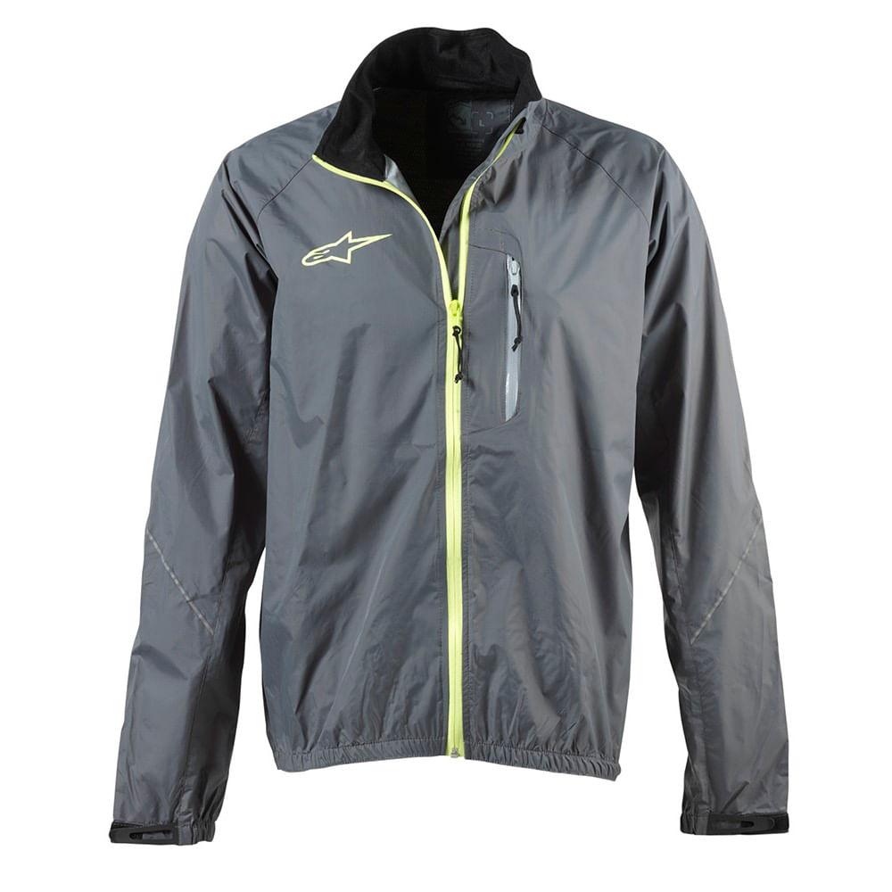 Corta-Vientos-Alpinestar-Descender-Wp-Jacket-Unisex-Cool-Gray-Yellow-Fluo