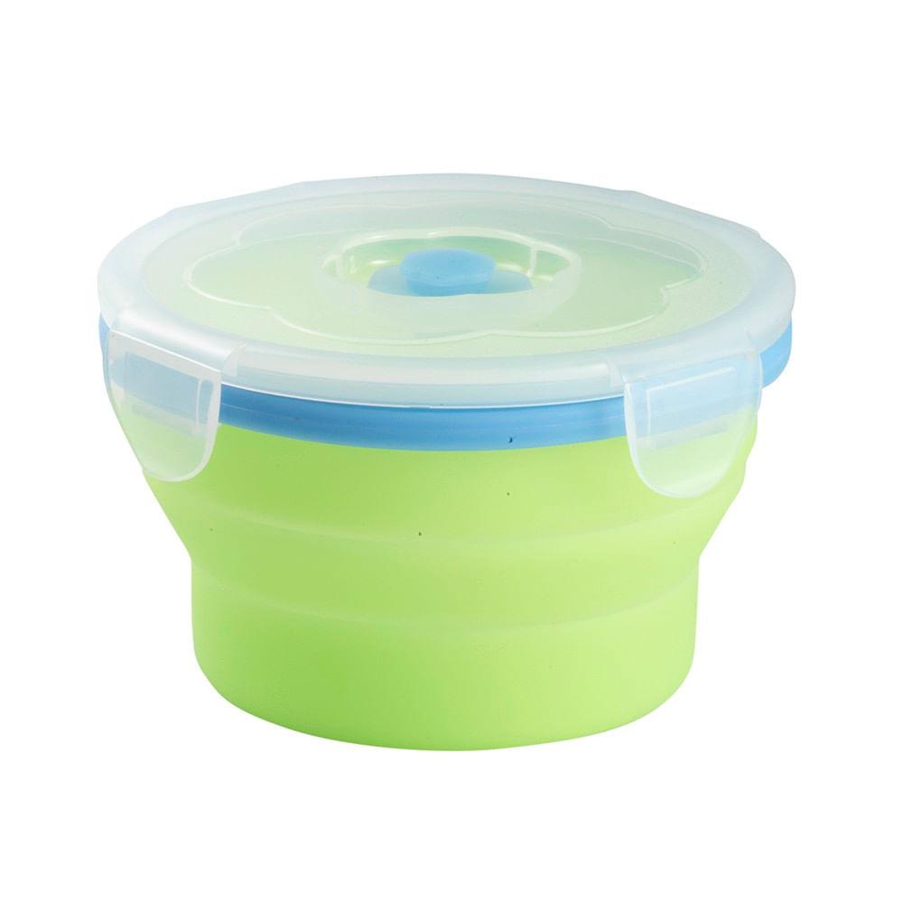 Bowl-Zolkan-Foldable-Bowl-0.54L-Unisex-Green