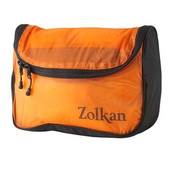 Neceser-Zolkan-Ultra-Light-Washing-Bag-Unisex-Orange
