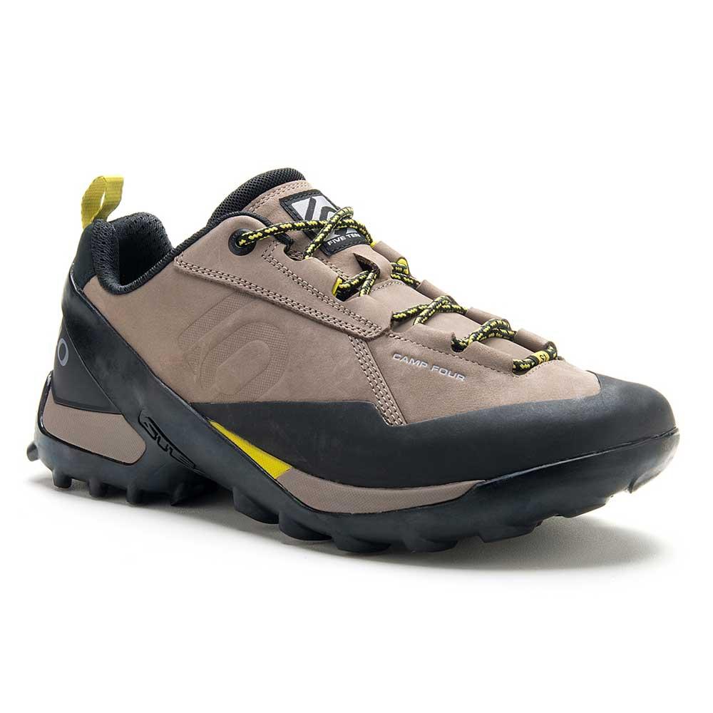 Zapatillas-Five-Ten-Camp-Four--Dark-Shadow--Hombre-Brown-Yellow-Talla-8