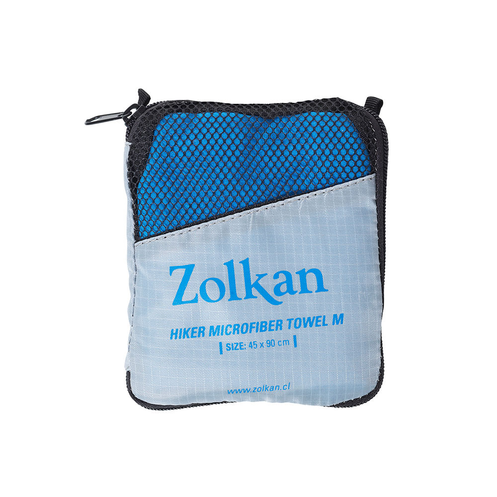 Toalla-Zolkan-Hiker-Micro-Fiber-L-Unisex-Blue-Talla-L