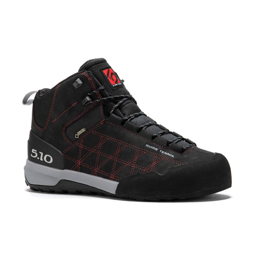 Zapatillas-Five-Ten-Guide-Tennie-Mid-Gtx-Hombre-Black-Red-Talla-8