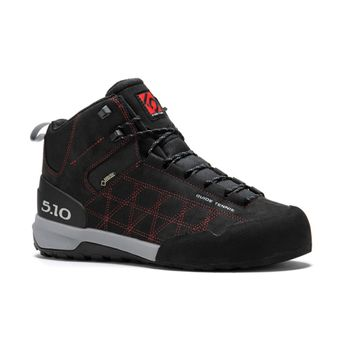 Zapatillas-Five-Ten-Guide-Tennie-Mid-Gtx-Hombre-Black-Red-Talla-8