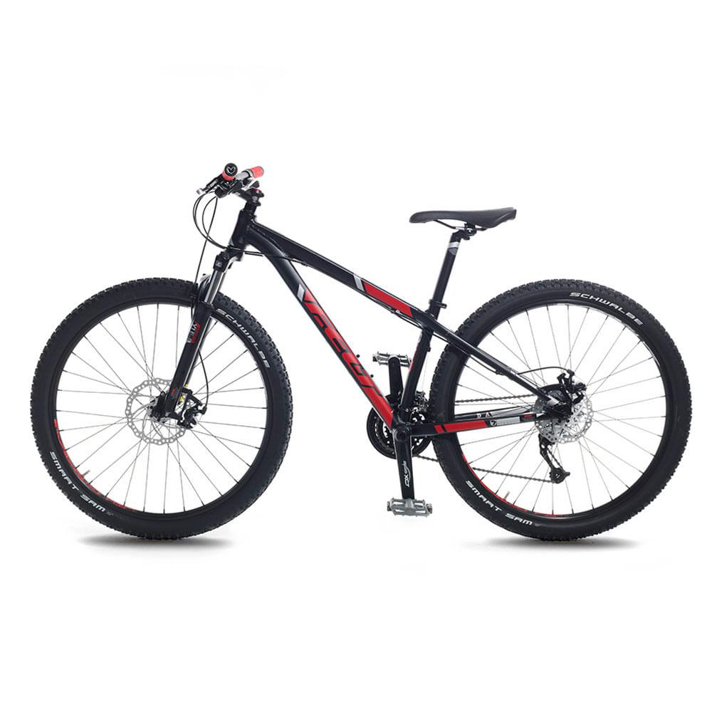 Bicicleta-Felt-7-Eighty-Unisex-Black-Red-Silver-L
