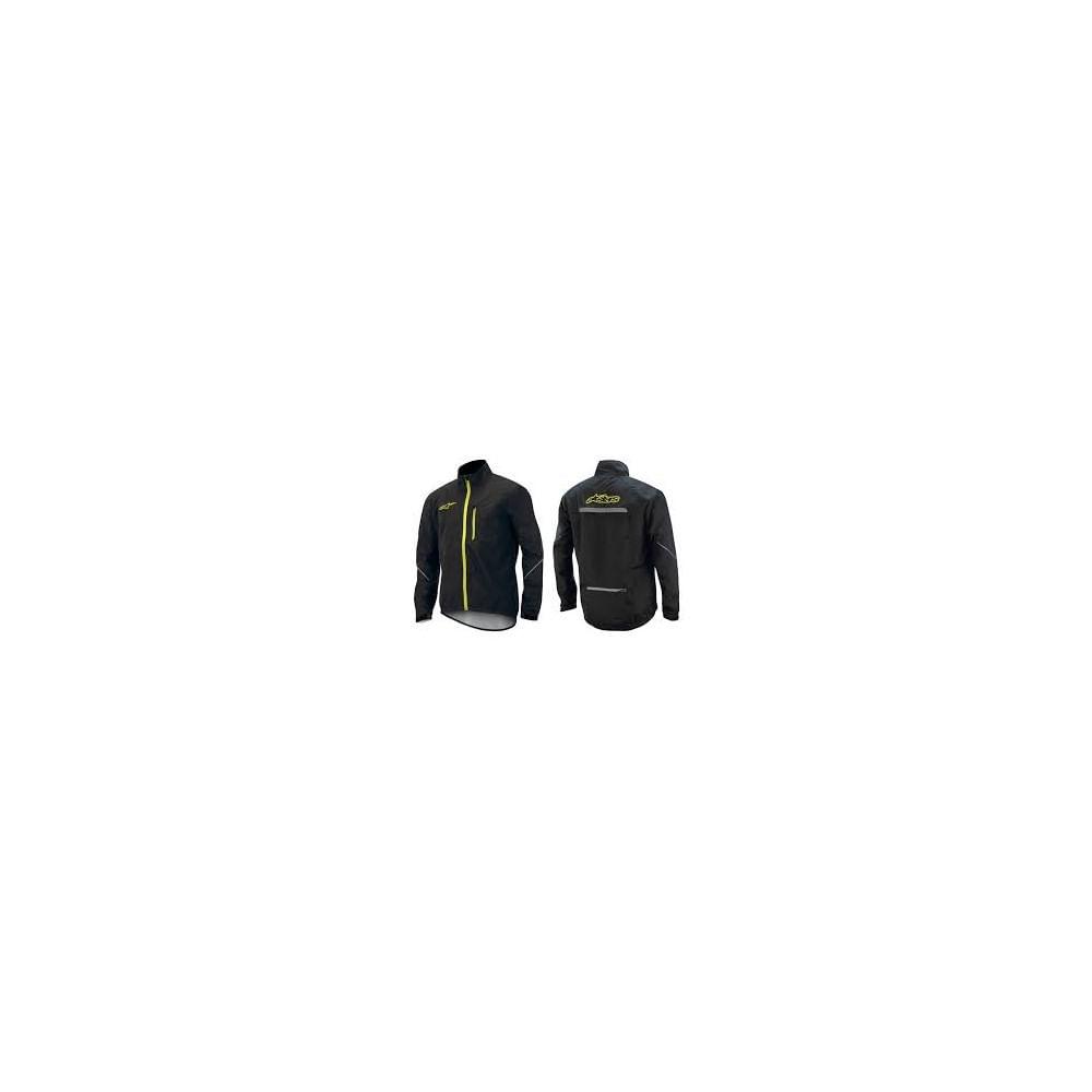 Corta-Vientos-Alpinestar-Descender-Wp-Jacket-Unisex-Black-Fluo-Yellow