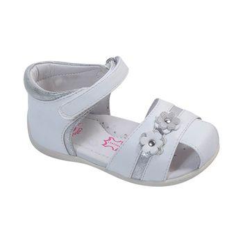 Sandalia-Boca-Velcro-Aplicaciones-Brillo-White---Zapato-Bebe-Niña