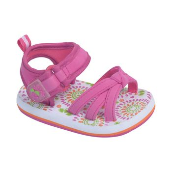 Aqua-Eva-Velcro-Corto-Aplicacion-Nudo-Fucsia---Zapato-Bebe-Niña