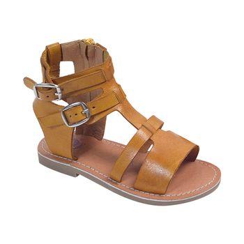 Sandalia-Alta-Doble-Hebilla-Camel---Zapato-Bebe-Niña