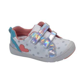 Zapatillas-Dos-Velcros-Aplicacion-Corazon-White---Zapato-Bebe-Niña