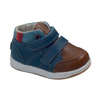 Botin-Dos-Velcros-Turquesa---Calzado-Niño