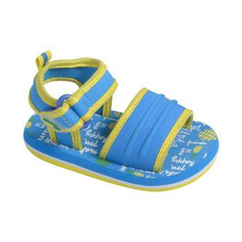 Sandalia-Aqua-Eva-Boca-Con-Velcro-Corto-Blue-Fluor---Calzado-Niño