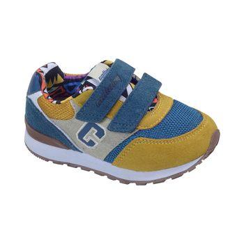 Zapatilla-Jogging-Velcro-C-Yellow---Calzado-Niño