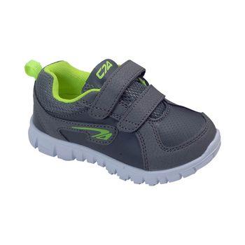 Zapatilla-Sport-2-Velcros-Gray---Calzado-Niño