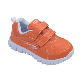 Zapatilla-Sport-2-Velcros-Orange---Calzado-Niño