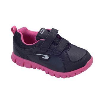 Zapatilla-Sport-2-Velcros-Black---Zapato-Bebe-Niña