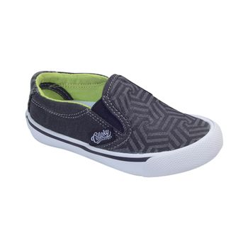 Slip-On-Canvas-Black---Calzado-Niño