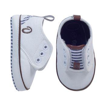 Zapatilla-Velcro-White