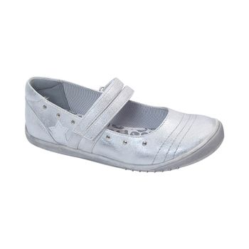 Ballerina-2-Trabas-Velcro-Light-Gray---Zapato-Bebe-Girl