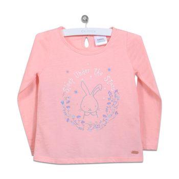 Polera-Everyday-Conejo-Neon-Pink---Ropa-Niña