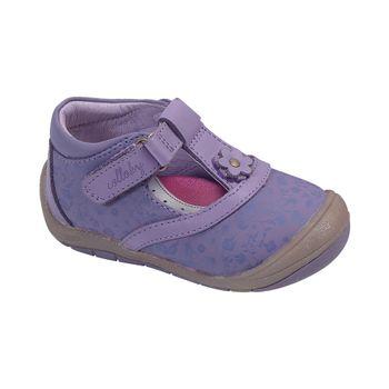Reina-Pretty-Flowers-Purple---Zapato-Bebe-Niña
