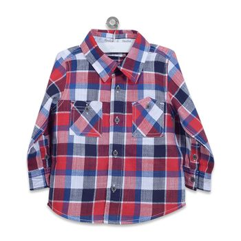 Camisa-Cuadrille-Naranja
