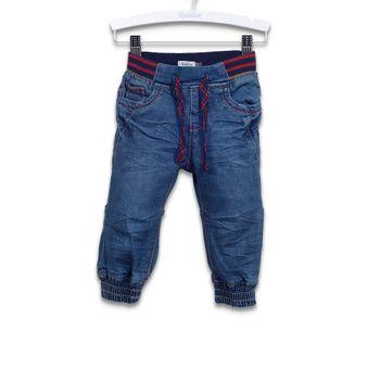 Jeans-Con-Pretina-Y-Puño-Azul-Marino