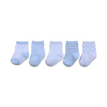 Pack-5-Calcetines-Soft-Niño-Celeste