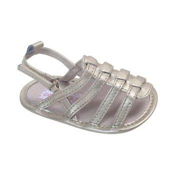 Sandalia-Tiras-Velcro-Corto-Punta-Y-Talon-Abierto-Gold---Zapato-Bebe-Niña