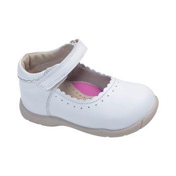 Reina-Boca-Con-Velcro-Doble-Premium-White---Zapato-Bebe-Niña