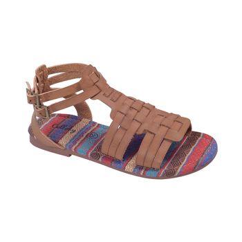 Sandalia-Doble-Traba-Hebilla-Camel---Zapato-Bebe-Niña