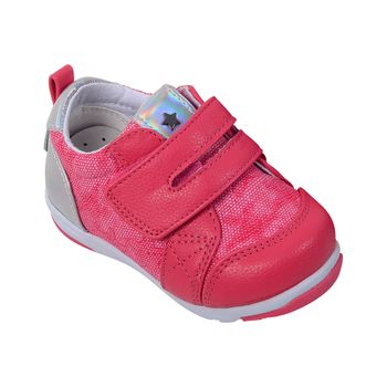 Zapatilla-Lifestyle-Velcro-Fucsia---Zapato-Bebe-Niña