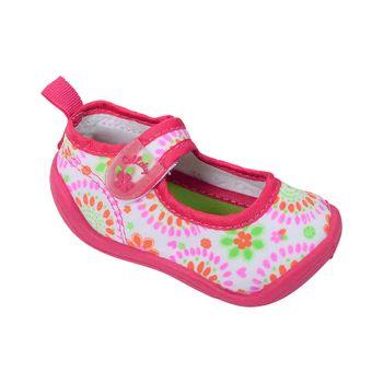 Aqua-Sock-Ballerina-Boca-Con-Velcro-Simple-Fucsia---Zapato-Bebe-Niña