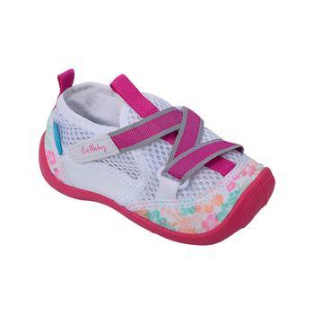 Aqua-Sock-Velcro-Fucsia---Zapato-Bebe-Niña