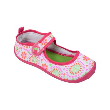 Aqua-Sock-Ballerina-Boca-Con-Velcro-Simple-White---Zapato-Bebe-Niña