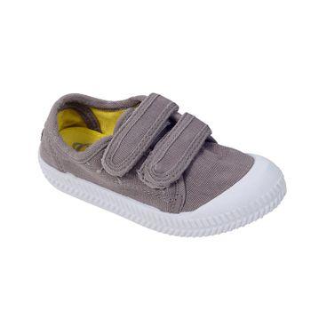 Zapato-Dos-Velcros-Inyectado-Middle-Gray---Calzado-Niño
