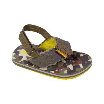 Hawaiana-Deshilachada-Velcro-Khaki---Calzado-Niño