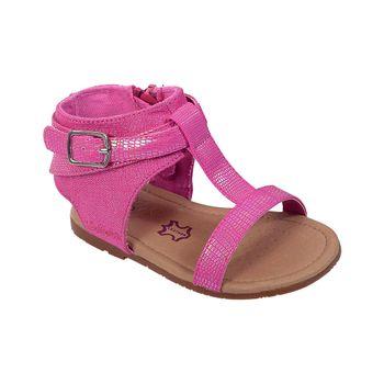 Sandalia-Cierre-Lateral-Fucsia---Zapato-Bebe-Niña