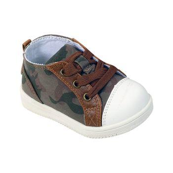 Zapatilla-Basica-Cordones-Taupe---Calzado-Niño