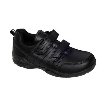 Zapato-Velcro-Black-Boy
