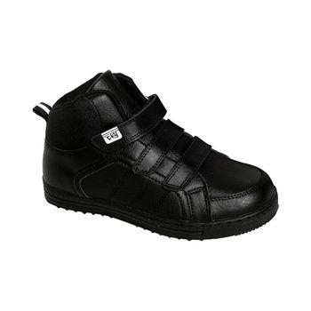 Zapatilla-Caña-3-Velcros-Black-Boy