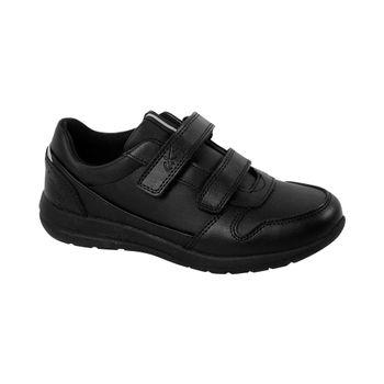 Zapato-Sport-Velcro-Black-Girl