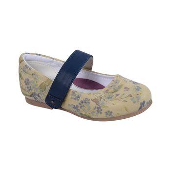 Ballerina-Velcro-Grueso-Girl-Navy