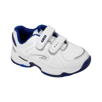 Zapatilla-Sport-Court-Dos-Velcros-Boy-White
