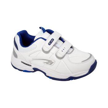 Zapatilla-Sport-Court-Dos-Velcros-Boy-White