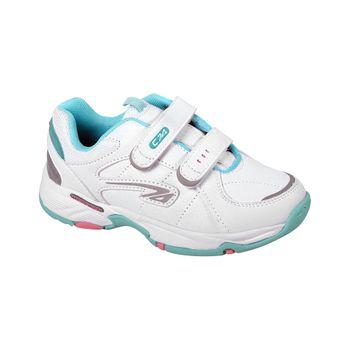Zapatilla-Sport-Court-Dos-Velcros-Girl-White